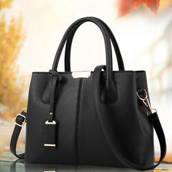 Women Ladies Leather Handbag Crossbody Shoulder BagTote Satchel Messenger Purse $20.98