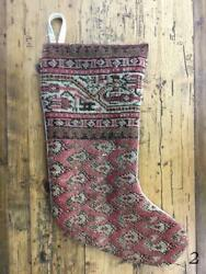 Frances Loom Vintage Rug Christmas Stockings Sold Out