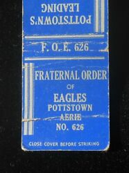 1940s Fraternal Order Of Eagles Foe Aerie No 626 Leading Fraternity Pottstown Pa