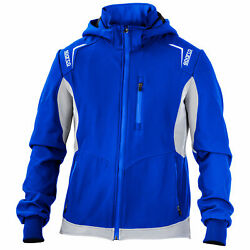Sparco Lightweight Waterproof Soft Shell Leisurewear Jacket / Coat