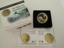 2010 Biblical Art Jonah In The Whale/belly Of The Fish Pr Coin 0.5 Oz Gold10nis