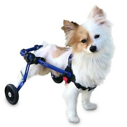 Refurbished Dog Wheelchair Extra Small For Mini Toy Breeds By Walkin#x27; Wheels $99.00