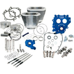 Sands 100 Silver Power Package Chain Drive Engine 585ce Cam Harley Twin Cam 99-06
