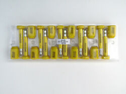 250 Pcs High Security Steel Bolt Seal For Container And Truck Door Lock - Yellow