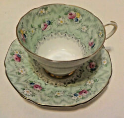 Antique Vintage Paragon By Appointment Fine China Made In England Cup And Saucer