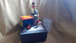 Tucher And Walther.nÜrnberg.jumbo Eiss.elephant Tin Toy Wind Up Germany