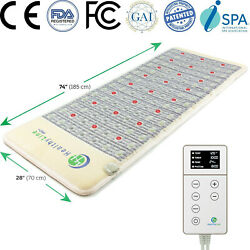 Infrared Heating Pad Pemf Bio Therapy Mat Amethyst - Healthyline 74 X 28 Pro