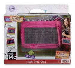 New Project Mc2 Pixel Pink Purse Toy Led Light, Ios And Android