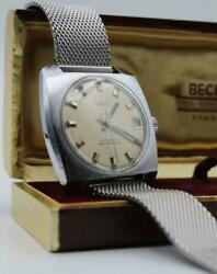 Rare Mens 1960and039s Mens Osco 25 Jewels Automatic Wrist Watch