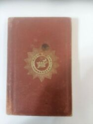 1868 Macoy And Sickels Book Of The Commandery John W Simons