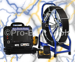 150and039 Pb2000 Battery Powered Sewer Drain Cleaner Inspection Video Camera System