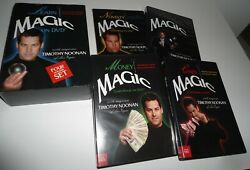 Learn Magic On Master Magician Timothy Noonan Easy-to-learn Vegas 4 Dvd Box Set