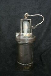Old Mining Lamp With Led Light Reworked