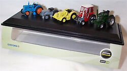 76set33 5 Tractors Ford Ferguson Massey David Brown Field Marshall By Oxford
