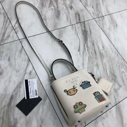 PRADA 2018 Collection JAPAN EXCLUSIVE DESIGN SHOULDER PANNIER ROBOT BAG GENUINE $3,029.00