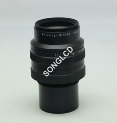 Printnig-nikkor 95mm 12.8 M=1/2 Used And Test With Warranty Free Dhl Or Ems