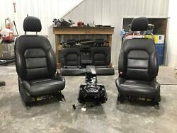 2018 Infiniti Qx30 Black Leather Front Seats Rear Seat Center Console Heated Pwr