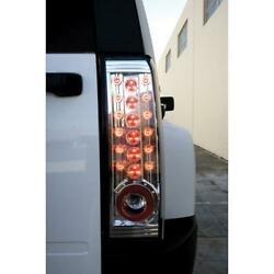 Ipcw 06-09 Hummer H3 Tail Lamps Led Crystal Clear Ledt-346c Pair