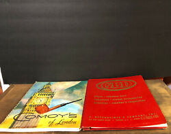 Set Of 2 Pipe Catalogs Comoys Of London And Gbd Pipes And Tobacco Jars