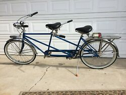 70's Vintage Schwinn Bicycle Built For Two