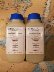 Dt Nitric 70 Acid, Tw0 1 Liter 68oz, High Purity Hno3 For Gold/silver Refining