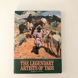 💲make Offer💲the Legendary Artists Of Taos Hardcover Vintage 1st Edition Book