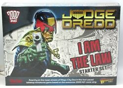 Judge Dredd 651510001 I Am The Law Starter Set Warlord Games Miniature Game