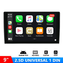 Joying 2.5d 9 Inch Single Din Touch Screen Auto Radio Android 10.0 Car Stereo
