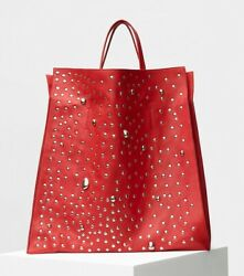 $4900 OVER THE MOON * CELINE * RUNWAY 2017 STUDDED TOTE BAG Seen In VOGUE (NWT) $2,900.00