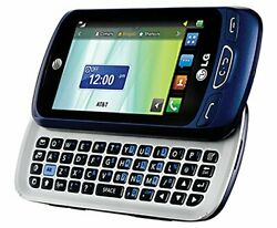 Lg Xpression 2 C410 Unlocked - Blue Atandt Cellular Phone T-mobile Must Read