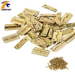 3018mm Furniture Connectors 4 Hole Small Wooden Gift Box Hinge In Stock 50pcs