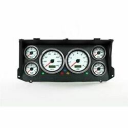 New Vintage Usa 79026-03 Performance Ii White Speedometer For 73-79 Ford Truck