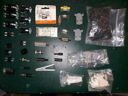 20aa47 Miscellaneous Connectors And Rack Screws 16 Oz, Very Good Condition