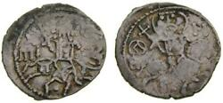 Empire Of Trebizond Michael 1344-1349 Ar Asper 20 Mm 2.02 Gm 7h Good Vf Rare