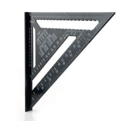 12inch Metric System Measuring Ruler Tools Woodworking For Triangle Roofing