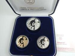 2000 Israel Biblical Art Joseph And His Brothers 3 Coins, 1/2 Oz Gold + 2 Silver