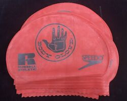 Speedo Body Glove Russell Athletic Silicone Swim Cap One Size Swimming Set Of 30