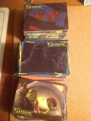 2001 Dart Trade Cards Shrek 99p Per Card.the More You Buy The Cheaper They Get