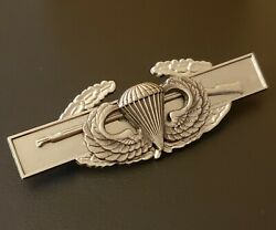 Jump Wing Combat Infantry Airborne Badge Army Cib Military Medal Parachute Pin