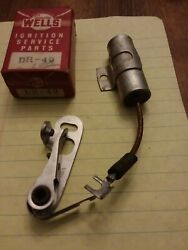 Contact Points And Condenser 28 29 30 31 32 33 34 35 Reo Car And Truck Buick Chevy