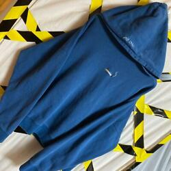 C2h4 Blue Mens Parka Sweatshirts Hoodie Size Small Genuine Used F/s From Japan