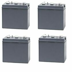 Replacement Battery For Terex Corp / Genie Ts19 24 Volts 4 Pack 6v