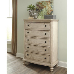 Chest Of Drawers White Home Bedroom Clothes Storage Wood Dresser Decor Furniture