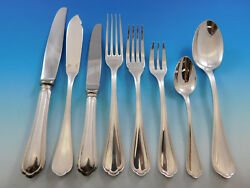 Spatours By Christofle France Silverplate Flatware Set Service 57 Pieces Dinner