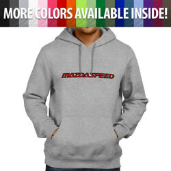Unisex Pullover Hoodie Sweater Casual Mazda Mazdaspeed Zoom-zoom Mps Ms3 Rx7 Rx8