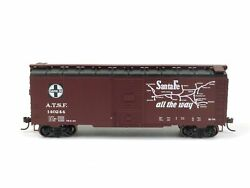 Athearn Trains Santa Fe 40' Box Car Youngstown Door 70410 Ho Scale Freight Cars