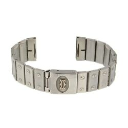 Straps Original Usine Santos 16mm Stainless Steal As Is