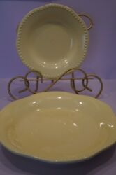 Pottery Barn Emma Yellow Dinnerware Made In Portugal - Your Choice