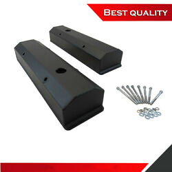 Suit Small Block Chevy 350 Valve Cover Long Bolt Black Powdercoated