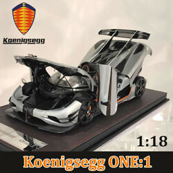 Frontiart Fa 118 Koenigsegg One1 Diecast Resin Car Model Detailed Collectibles